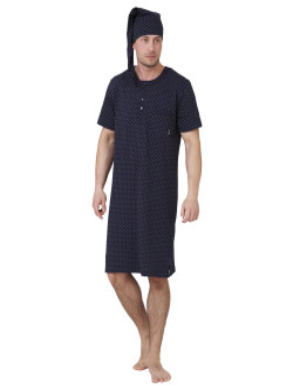Męska koszula nocna HIERONIM