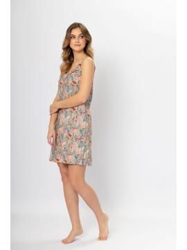 Wygodna i stylowa długa piżama damska LOLA WYPRZEDAŻ