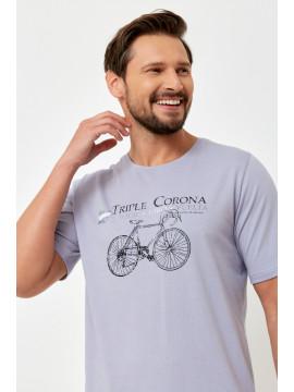 Legginsy wyszczuplające Push-Up SPENCER spodnie eko-skóra