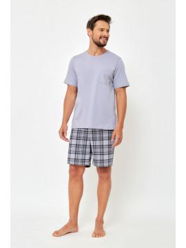 Jegginsy / legginsy czarny jeans z lampasem TONI