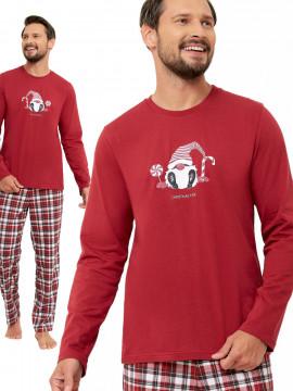 Kobieca piżama bawełniana GIZELA ++SIZE WYPRZEDAŻ
